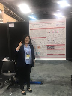 Yuxin's poster at SEAC Poster session!