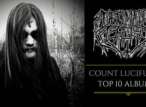 DECIMATED CROSS | COUNT LUCIFUGE | TOP 10 ALBUMS |