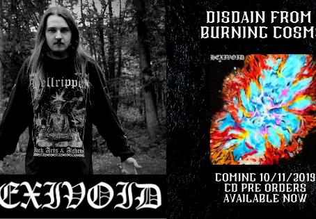 Hexivoid - Disdain From  A Burning Cosmos | PRE ORDER |