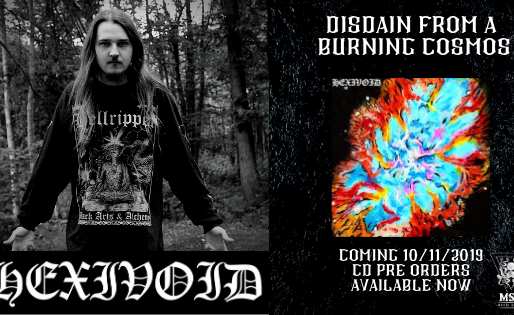Hexivoid - Disdain From  A Burning Cosmos | PRE ORDER |