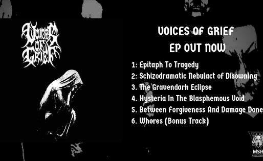 Voices Of Grief EP Out Now