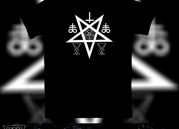 Decimated Cross - Logo T-shirt