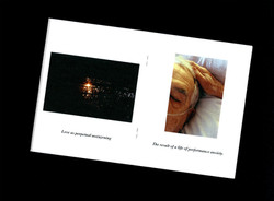 fine art photography gallery zine documentation dying man portrait and sunset photograph