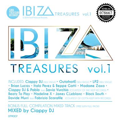 STR007 - IBIZA Treasures vol.1 (V.A.)(CD • WAV • MP3)