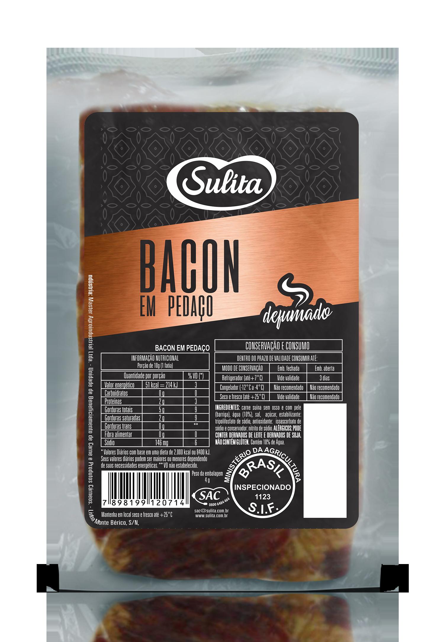 Bacon em Pedaço Sulita