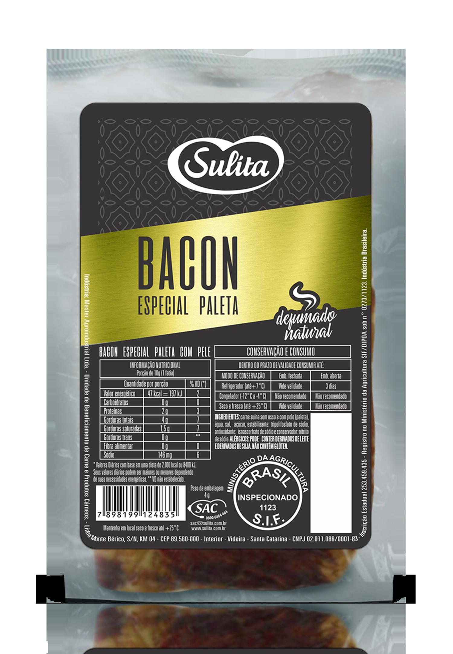 Bacon especia Paleta