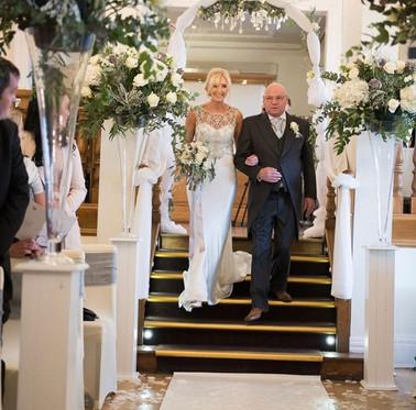Winter bridal bouquet - West Tower