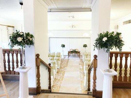 wedding ceremony west tower
