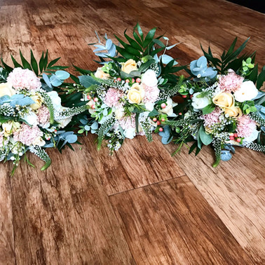 Bridesmaid flowers at Lancashire Manor