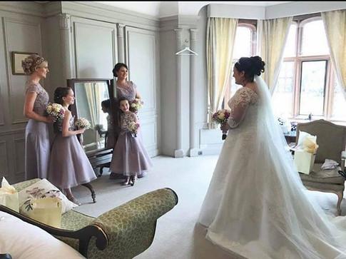 Wedding flowers at Thornton Manor
