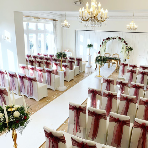 christmas wedding at west tower