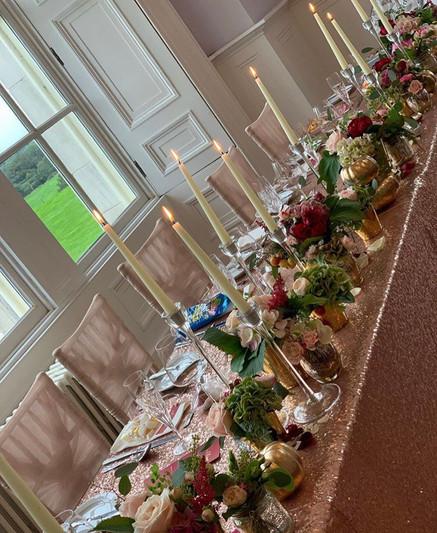 wedding florist cheshire