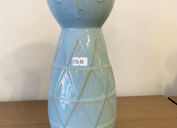 Duck Egg Face Vase