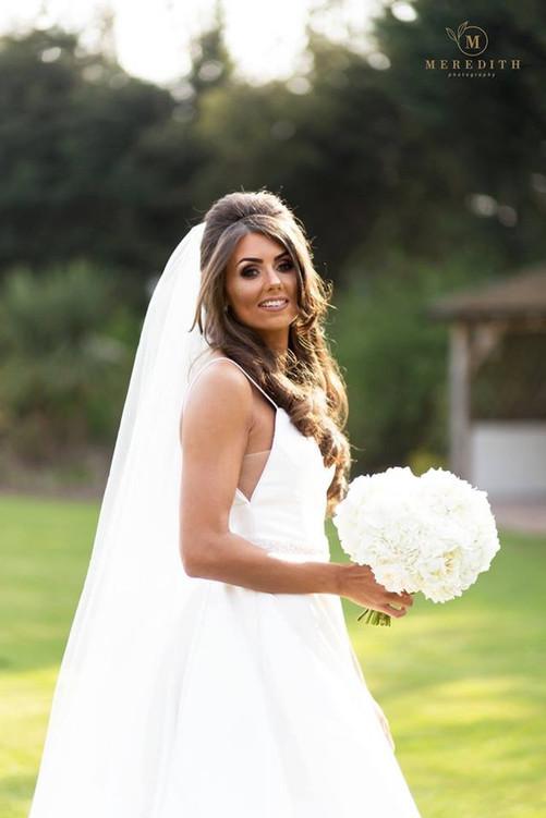 white wedding flowers cheshire