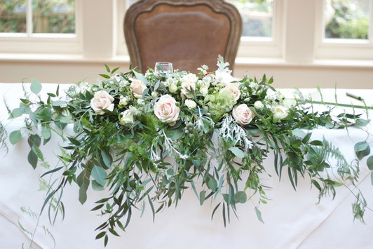 top table flowers warrington