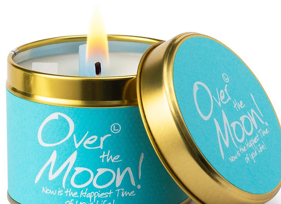 Over The Moon Scented Candle Tin
