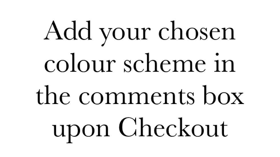 Bespoke Wreath (Choose your own colour scheme)
