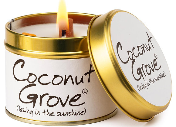 Coconut Groove Scented Candle Tin