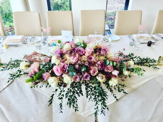 top table flowers west tower