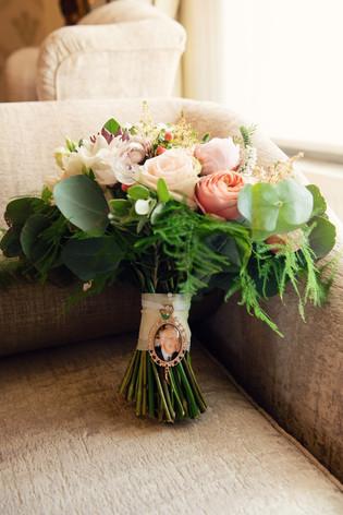 wedding bouquet west tower
