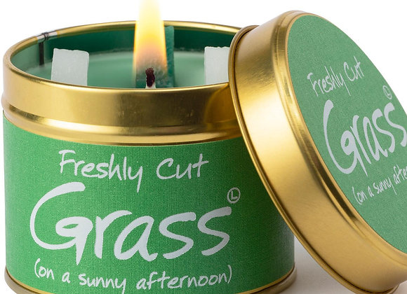 Freshly Cut Grass Scented Candle Tin