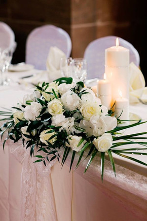 Peckforton Castle wedding flowers