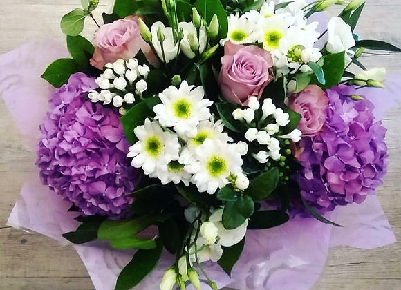 """Purple Blast"" Gift Bouquet"