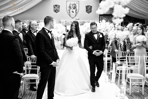 wedding ceremony decoration wrenbury hall