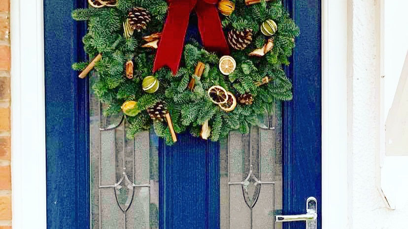 Traditional Dried Fruit Wreath