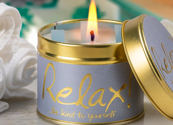 Relax! Scented Candle Tin