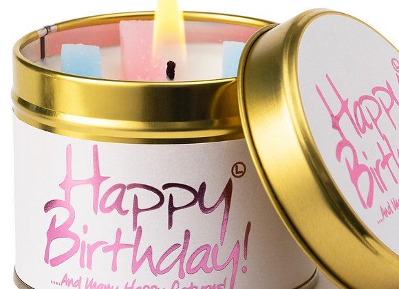 Happy Birthday! Scented Candle Tin