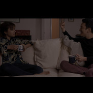"""from """"Counting"""" short film actors: Jinho Woo and Tori Ernst"""