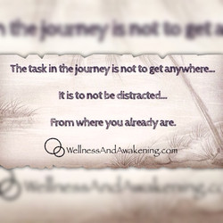 The task in the journey