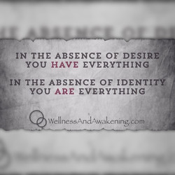 Absence of Desire