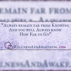 Far from Knowing