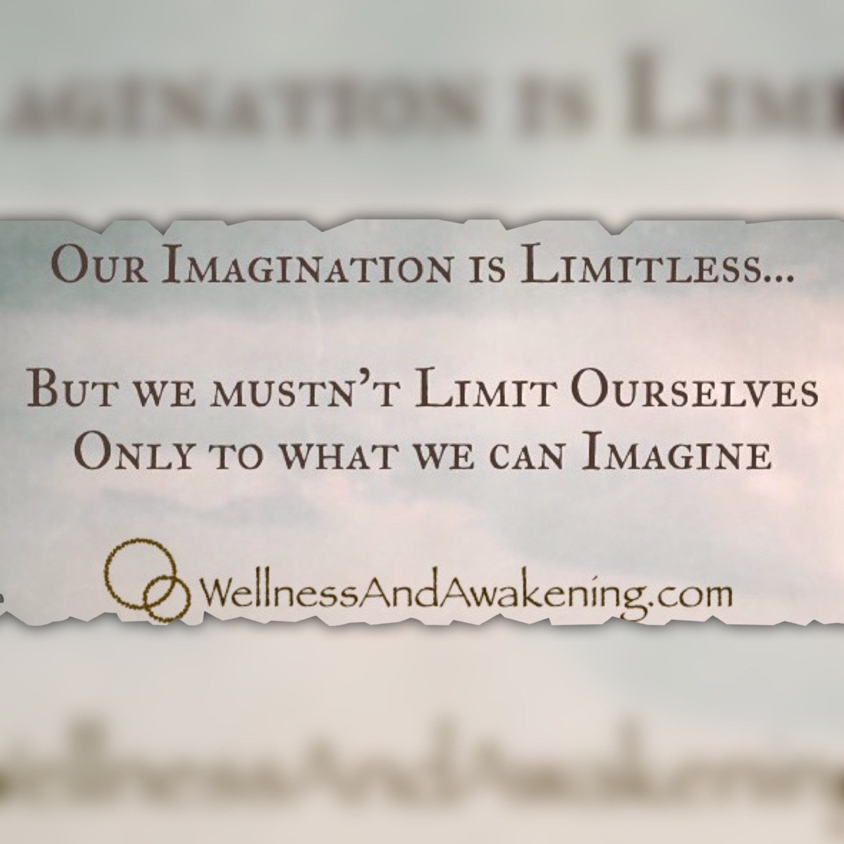 Imagination is Limitless