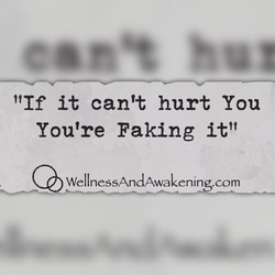 Your faking it