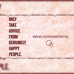 Advice from happy people