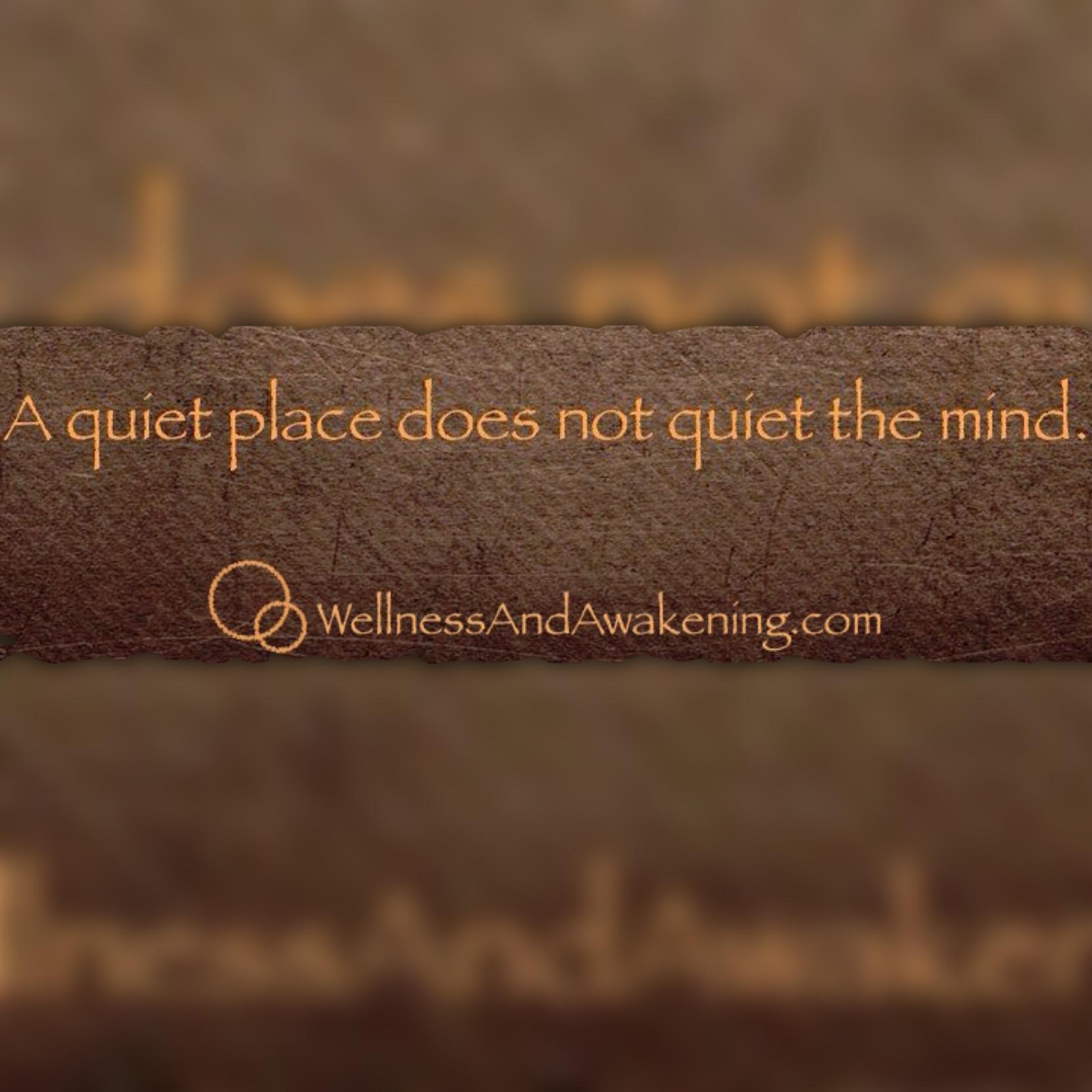 A quite place