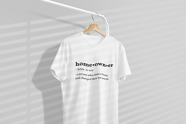mockup-of-a-one-tee-hanging-from-a-cloth
