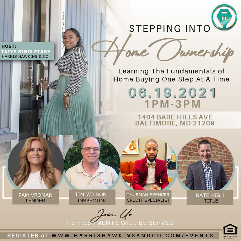 Stepping Into Homeownership - Hosted by Taiye Singletary