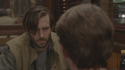 SHot of Bobby in Diner - angry face