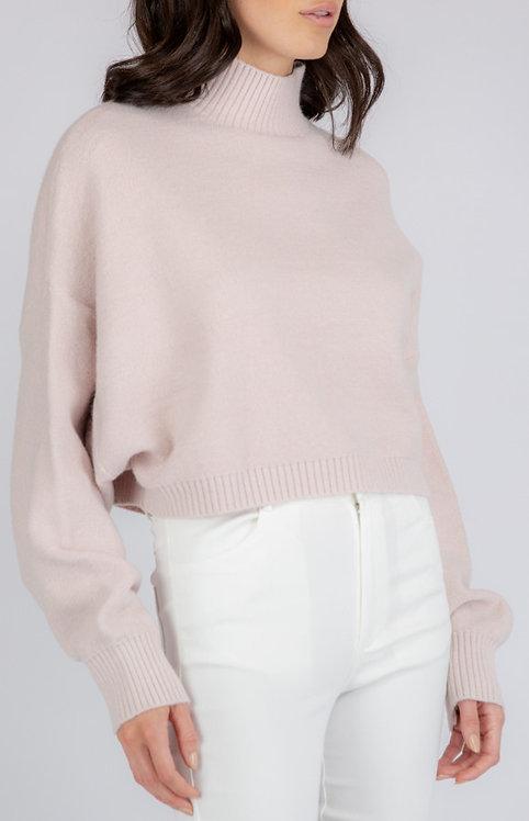 Blush knit jumper
