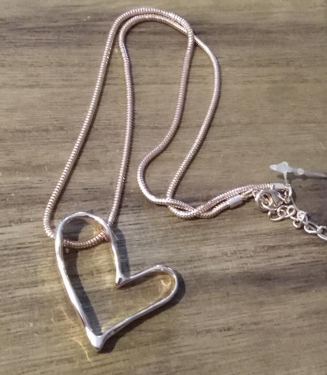 Short love necklace