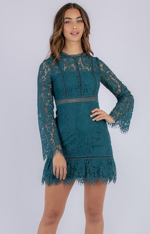 Emerald Lace dress