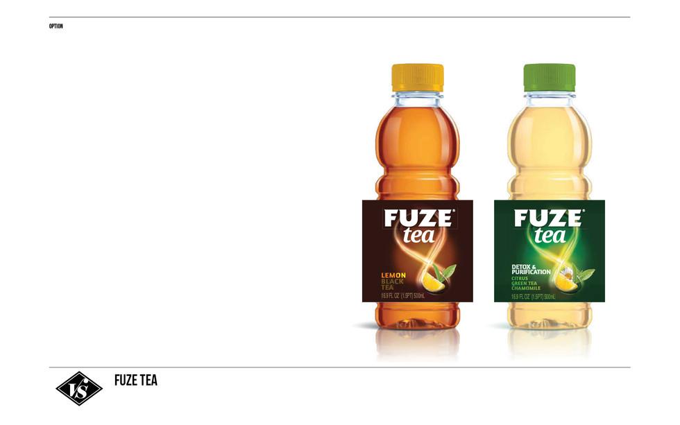 Fuze Tea for Coca-Cola