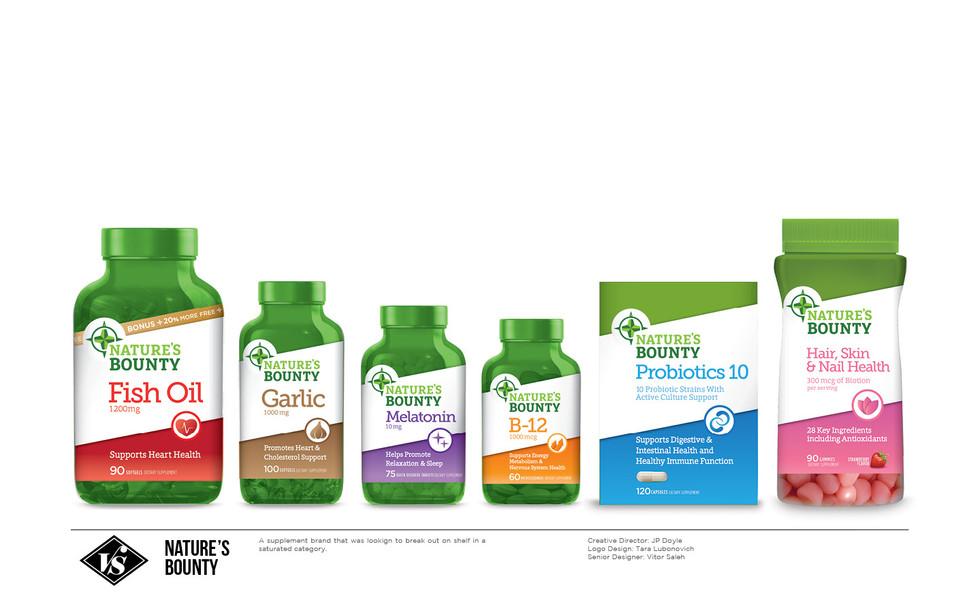 Nature's Bounty Supplements