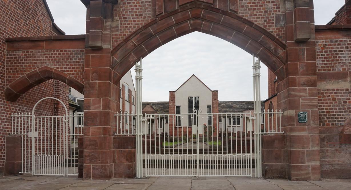 Gates and garden