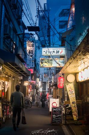 Osaka street mood