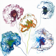 """Ghost Flowers'"" © Samantha Butcher"
